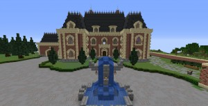 İndir Leo CraftingTV's Victorian Lake Mansion için Minecraft 1.14.4