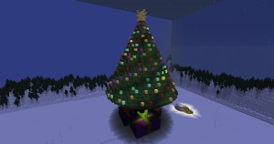 İndir Journey to the Christmas Tree için Minecraft 1.12.1